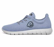 Schnürschuhe blau