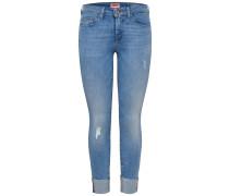 Skinny Fit Jeans 'Carmen Reg' blue denim