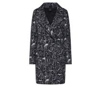Mantel 'girona' schwarz / weiß
