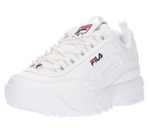 Sneaker 'Disruptor' nachtblau / rot / weiß