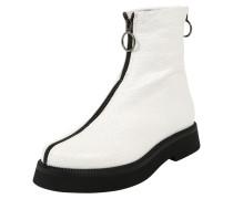 Stiefel schwarz / weiß