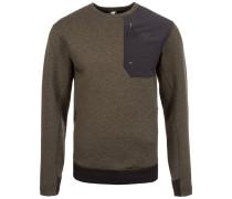 Sweatshirt '247 Luxe Crew' oliv