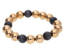 Armband gold / schwarz