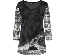 Shirt grau / schwarz / weiß