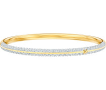Armreif 'Stone 5459263' gold / silber