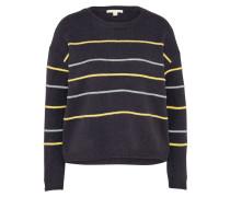 Sweater 'striped' navy / mischfarben