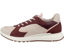 Sneakers weiß / weinrot