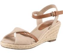 Sandaletten braun / nude