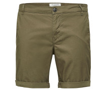 Chino Shorts oliv