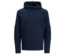 Lässiges Sweatshirt dunkelblau