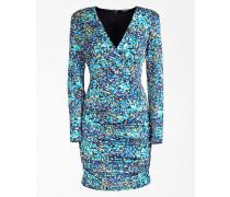 Kleid blau / aqua