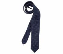Krawatte navy / weiß