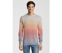 Pullover mit Farbverlauf mischfarben
