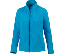'Leona1' Fleecejacke blau