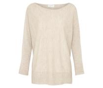 Pullover aus reiner Wolle beige