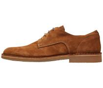 Wildleder Schuhe braun