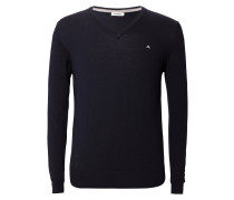 Pullover Lymann True Merino Knit blau