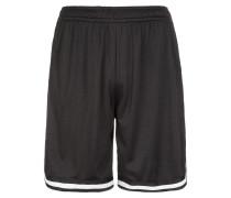 Shorts weiß / schwarz