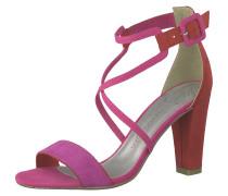 Sandalette pink / rot