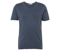 T-Shirt 'jprashy TEE U-Neck' navy