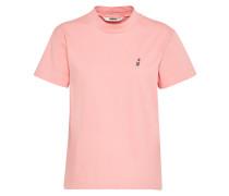 T-Shirt 'Lipstick' pink
