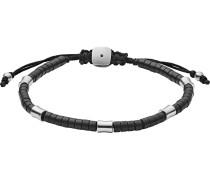 Armband 'jf03006040' silbergrau / schwarz