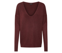 Pullover weinrot