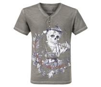 Shirt 'Oskar' grau / mischfarben