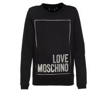 Sweater schwarz / silber