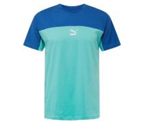 Shirt 'xtg Tee' blau / türkis
