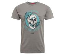 Shirt 'Angeln' dunkelgrau