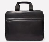 Leder Tasche schwarz