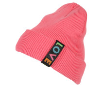 Beanie 'Love Turn' pink