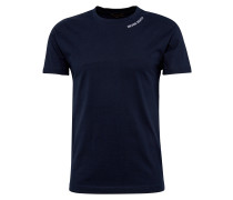 T-Shirt 'RN Small Embro' navy