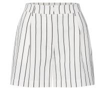 Shorts 'Livia' schwarz / weiß