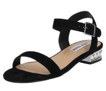 Sandalette 'cashmere' schwarz