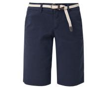 Shorts marine / weiß