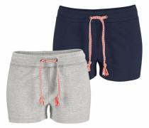 Shorts marine / grau