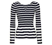 Pullover dunkelblau / weiß