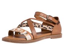 Sandale braun / mischfarben
