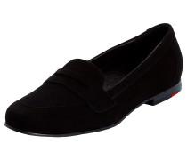 Schuhe in runder Form schwarz