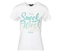 T-Shirt Sneekweek T-Shirt weiß
