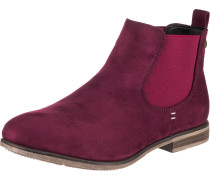 Chelsea Boots weinrot