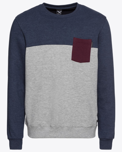 Sweatshirt 'Block Pocket Crew'
