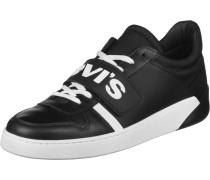 Schuhe ' Mullet V ' schwarz / weiß