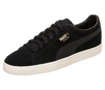Sneaker 'Suede Classic Perforation' schwarz