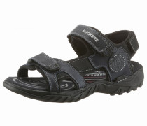Sandale dunkelblau / schwarz