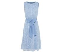 Kleid 'Dotted Plumeti' hellblau