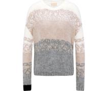 Pullover beige / grau / schwarz / naturweiß