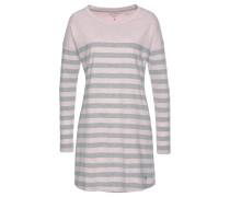 Sleepshirt grau / rosa